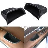 1 Pair Car Door Side Handle Armrest Storage Box Black For Volvo S90 V90 CC 2017 2018