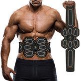 KALOAD USB Charing Body Abdominal Muscle Trainer Fitness Body Stimulator Waist Belt
