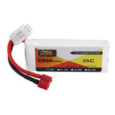 ZOP Power 7.4V 2200mAh 35C 2S Bateria Lipo T Plug do 144001 10428 10428A / B / C / A2 / B2/C2 K949 RC Car