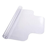 Clear PVC Floor Mat Protector with Lip for Hard Wood Floors Home Office Desk Chair