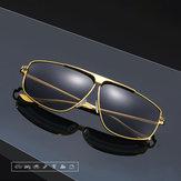 Occhiali da sole polarizzati in metallo anti-UV alla moda da uomo