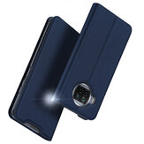 DUX DUCIS for Xiaomi Mi 10T Lite / Redmi Note 9 Pro 5G Case Flip Magnetic with Card Slot Stand Shockproof PU Leather Protective Case Non-Original