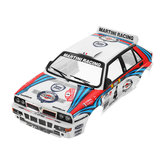 Killerbody Car Shell 48248 Lancia Delta Rally-Racing Printed 1/10 Electric Touring RC Car Parts