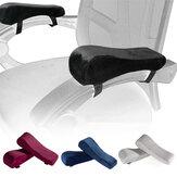 2 adet Sandalye Kol Dayama Pedleri Bellek Köpük Dirsek Yastık Önkol Basınç Tahliye için Evrensel Sandalye Kol Kapak Set Ofis Koltuğu Malzemeleri
