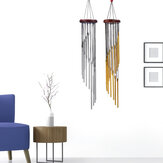 Metal Tube Wind Chime Indoor And Outdoor Decorations