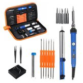 Electric Soldering Iron Tool Kit 60W Control ℃ Welding Station Tip Case