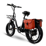 [EU Direct] CMACEWHEEL Y20 48V 15Ah 750W 20in Folding Electric Bike with Bag 45km/h Max Speed 60-100km Range E Bike