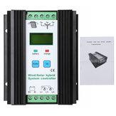 12V 24V 400W Ветер Солнечная Контроллер гибридного заряда Уличный фонарь Регулятор ветра Генератор