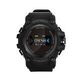 Bakeey A66 Continuously Heart Rate Monitor Sport Modes Shockproof Pill Remind Timing Smart Watch