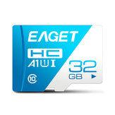 EAGET T1 Mini Classe 10 U3 256GB Memory TF SD Card 32GB 64GB 128GB Flash Card Smart Card para celular laptop
