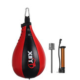 PU Leather Boxing Punching Ball Inflatable Boxing Pear Shape Exercise Speed Bag Double End Boxing Speed Ball