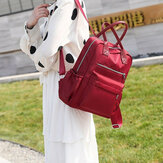 Women Waterproof Oxford Cloth Backpack Travel Handbag Shoulder Bag Tote Rucksack