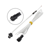 2Pcs NTC100K Thermistor For 3D Printer With Pluggable Plug High Temperature Resistance