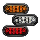 12V 4W 6000K 10LED Car Tail Light Rear Turn Signal Side Marker Lamp for Truck Trailer