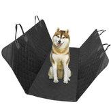 Negro Impermeable y respaldo antideslizante Coche Funda de asiento para mascotas Hamaca convertible para mascotas para Coches