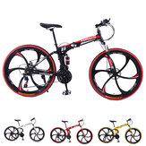 KAIMARTE 26 pouces 21 vitesses VTT pliant vélos BMX tout-terrain freins à double disque étudiants et enfants vélos de route Bicicleta vélo