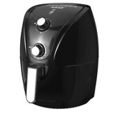 1400W Digital Deep Air Fryer Customized Preset Pause Timer Oil-less Healthy