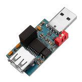 USB İzolatör USB'den USB'ye Optocoupler İzolasyon Modülü Birleştirilen Koruma Kartı ADUM3160 İzolasyon Gerilimi 2500V