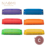 Naomi Harmonica Comb Melodica C Tune Plastic 10 huller Harmonica Children Harmonica Begynder Brug Børnegave