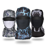 Mens Outdoor Bicycle Fleece Full-protection Face Mask Hat