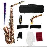 MY S0189 Antique Bronze Alto Saxophone Woodwind Instrument