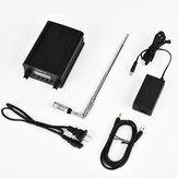 Trasmettitore FM stereo PLL wireless CZERF CZE-7C 1W / 7W con kit da esterno GP1 Antenna