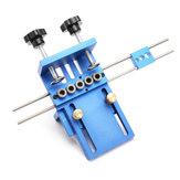 Jig Dowelling Jig Set in lega di alluminio Junc Duckelling Wood Duckel Drilling Position Jig Strumento di lavorazione del legno