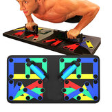 14 In 1 Multifunktionsklapp Push-up Board Home Gym Muskeltraining Fitness-Trainingsgeräte