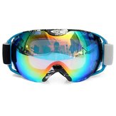 Motorcycle Riding Anti Fog Goggles Unisex Dual Lens Outdooors Snowboard Ski Glasses
