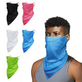 Multifunction Scarf Face Mask Neck Gaiter Balaclava Bandana Ice Silk Cooling UV Protection Dustproof Windproof Headwear for Women Men