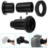1.25inch Black Extension Трубка Адаптер для астрономического телескопа для Canon камера