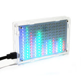 Geekcreit® 5V LED Espectro Musical DIY LED Flash Kit 12x11FFT 108 x 70 x 16mm