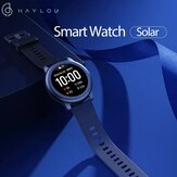 [BT 5.0]Haylou Solar LS05 Full Round Screen Wristband 12 Sport Modes Tracker Heart Rate Monitor 30 Days Standby Smart Watch Global Version