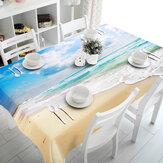 3DSkyBeach5Khăntrải bàn Khăn trải bàn bằng vải trang trí tiệc sinh nhật