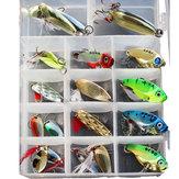 ZANLURE21sztuk/zestawMetalu Łyżka Przynęty Fishing Lure Zestaw VIB Sea Fish Bass Bait Crankbait Swimbait
