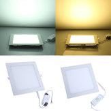 20W Square Ceiling Panel White/Warm White LED Lighting AC 85-265V