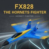 Flybear FX828 Hornet Fighter 290mm Envergadura 2.4GHz 2CH EPP RC Airplane Warbird RTF