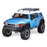 Yi Kong Racing YK4013 1/10 2.4G 4WD Portal Axle Locked Diff Crawler Truck LED Light RC Car Vehicles Models without Battery