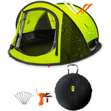 Zenph Double-layer Tent 3-4 People From Xiaomi Youpin 3 Seconds Automatic Opening Family Camping Tent Outdoor Waterproof Sun Shelter