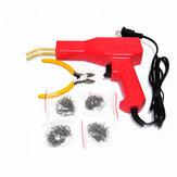 Kit d'outils de garage en plastique pratique pour agrafeuses à chaud pour réparation de pare-chocs de voiture