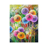 DIY 5D Diamond Painting Kit Colorful Dandelions Handmade Craft Cross Stitch Bordado Decorações de parede para casa