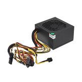 Fuente de alimentación 650W Ventilador de 12 cm Fuente de alimentación de computadora PCI SATA 12V de 8 pines