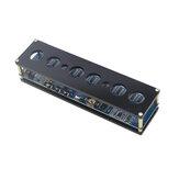 STM8S005 Control DC 5V elektronikus IN14 Nixie Tube digitális LED óra DIY ajándék áramköri kártya PCBA RGB lámpa óra chip chip Micro USB kagylóval