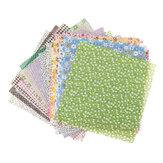 50PCS DIY Assorted Pre-Cut Square Bundle Charm Cotton Floral Quilt Fabric Patchwork