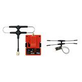 FrSky R9M 2019 Módulo transmissor de longo alcance de 900 MHz e R9 Slim + OTA ACCESS RC Receiver com antena Super 8 e T montada