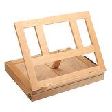 لوح رسم خشبي الحامل سطح المكتب متعدد الوظائف فن الرسم طاولة مكتب اللوحة الحامل
