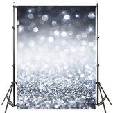 5x7ft / 3x5ft Retro Glitter Thin Vinyle Photographie Contexte de Fond Studio Photo Prop