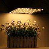 225LED Grow Light Warm White Lámpara Hidroponía de panel ultrafino para interiores Planta Veg Flower AC85-265V