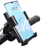 Universal Bike Motorbike Handlebar Rearview Mirror Phone Holder Phone Mount Bicycle Motorcycle Holder For 5.0-7.2 Inch Smart Phone For iPhone SE 2020 Xiaomi Note 9S