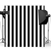 8x8FT черный White Stripes Wall Фотоgraphy Studio Vinyl Background Backdrop